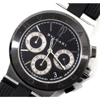 BVLGARI - 定価80万円超 ブルガリ DG37 SC CH クロノ メンズ 自動巻 時計