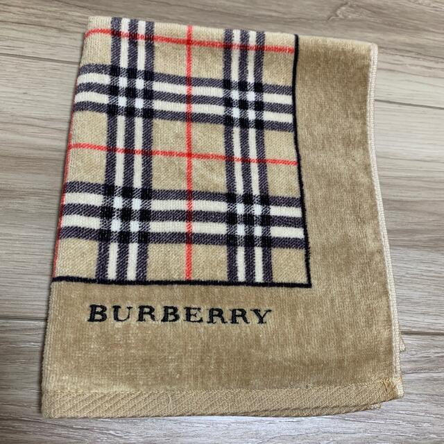 BURBERRY(バーバリー)のBurberryタオル インテリア/住まい/日用品の日用品/生活雑貨/旅行(タオル/バス用品)の商品写真