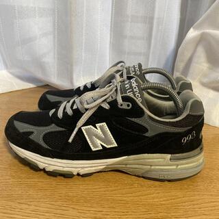 ニューバランス(New Balance)のNew Balance MR993 BLACK(スニーカー)