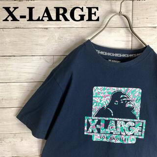XLARGE - 古着 エクストララージ X-LARGE 半袖 Tシャツ ゴリラロゴ