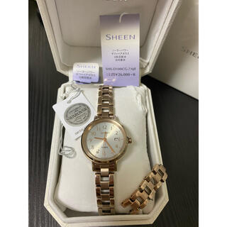 カシオ(CASIO)のCASIO SHEEN 腕時計 SHS-D100CG-7AJF(腕時計)