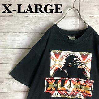 XLARGE - 古着 エクストララージ X-LARGE 半袖 Tシャツ 希少デザイン