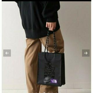 FRAMeWORK - 黒 ノースフェイス PURPLE LABEL  TPE shopping Bag