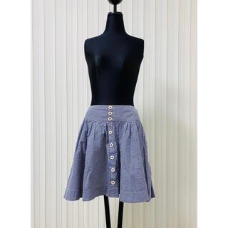 ラルフローレン(Ralph Lauren)のラルフローレン ラルフ ギンガムチェック スカート 膝丈 フレアースカート(ひざ丈スカート)