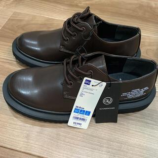 ジーユー(GU)のGU×UNDERCOVER  ラウンドトゥシューズ ダークブラウン 25cm(ブーツ)