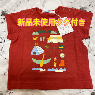 familiar - 値下げしました!ファミリア 新品未使用タグ付き Tシャツ 70 定価6,600円