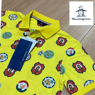 マンシングウェア(Munsingwear)のM 新品17600円 マンシングウェア メンズ ポロシャツ クーリング/UVケア(ウエア)