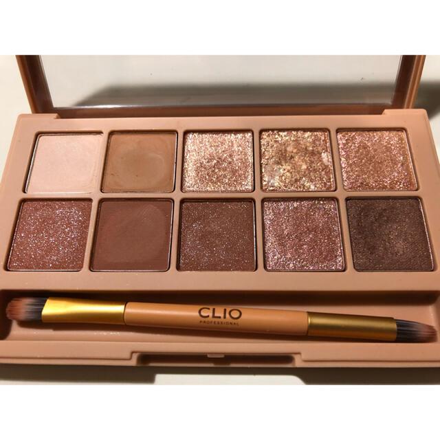 クリオ CLIO PRO EYE PALETTE アイシャドウ ブラウンシュー  コスメ/美容のベースメイク/化粧品(アイシャドウ)の商品写真