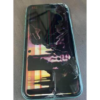 アップル(Apple)の【ジャンク】iPhone 11 グリーン 128GB Simフリー(スマートフォン本体)