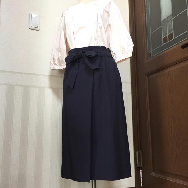 anySiS(エニィスィス)のany SiS★美品★ラップ風スカート レディースのスカート(ひざ丈スカート)の商品写真