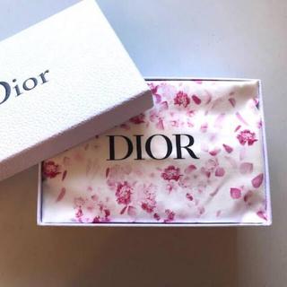 Dior - Dior 花柄 巾着 ポーチ♡