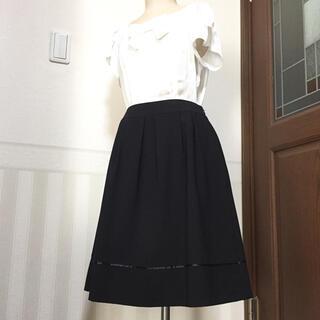 エニィスィス(anySiS)のany SiS★新品★フォーマルスカート(ひざ丈スカート)