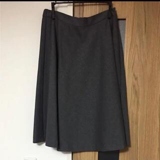 イネド(INED)の【未使用】【INÉD】スカート(ひざ丈スカート)