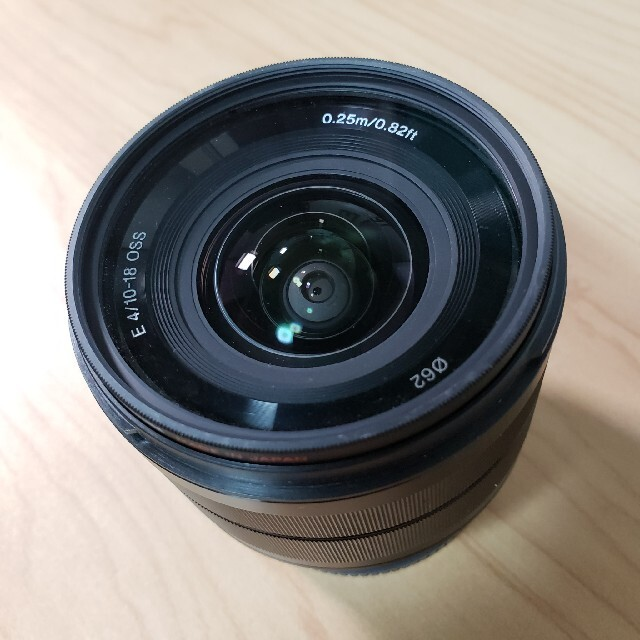 SONY(ソニー)のSONY E10-18 F4 Zoomレンズ スマホ/家電/カメラのカメラ(レンズ(ズーム))の商品写真