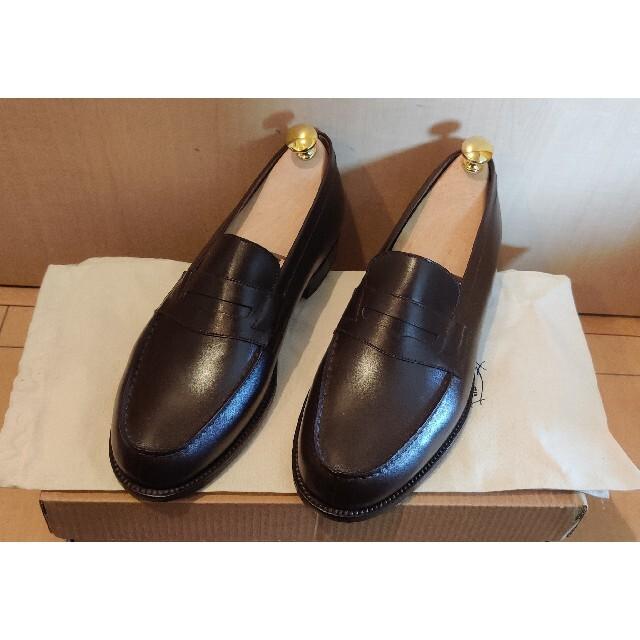 J.M. WESTON(ジェーエムウエストン)の【未使用品】J.M. WESTON 180 6D 限定品PAPIERS メンズの靴/シューズ(ドレス/ビジネス)の商品写真