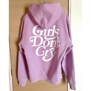GDC - Girls Don't Cry GDC Logo Hoodie 新宿伊勢丹 紫S
