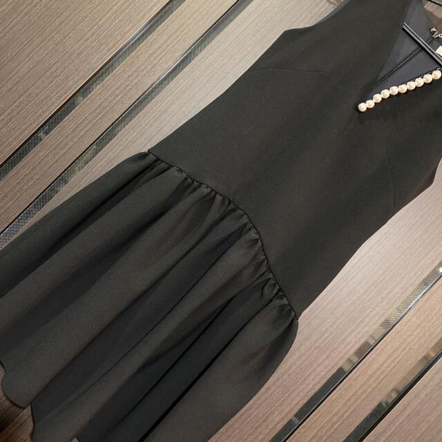 YOKO CHAN パール ワンピース レディースのワンピース(ひざ丈ワンピース)の商品写真