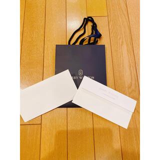 ハリーウィンストン(HARRY WINSTON)のハリーウィンストン ショップ袋 封筒 紙袋 ギフト(ショップ袋)