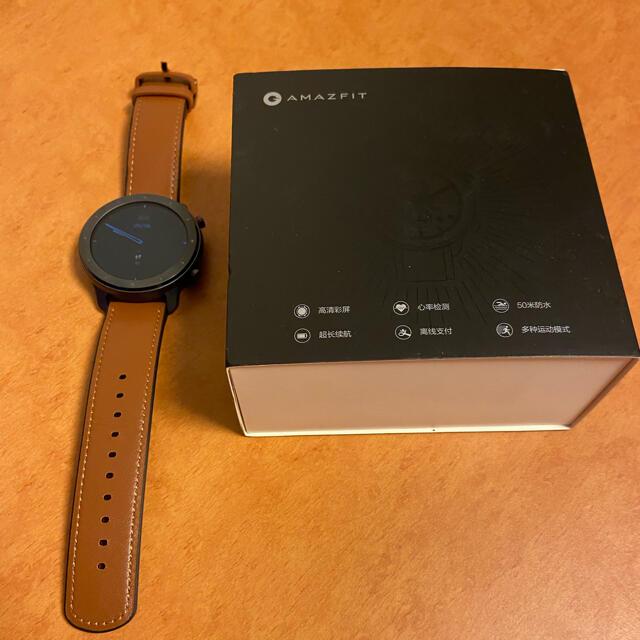 Amazfit GTR 47mm 【中国版】 メンズの時計(腕時計(デジタル))の商品写真