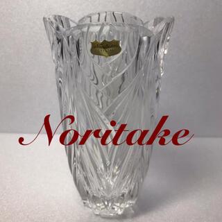 ノリタケ(Noritake)の[未使用] Noritake  CRYSTAL  フラワーベース/花瓶(花瓶)