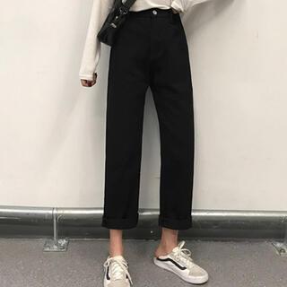 dholic - 韓国 ブラック ズボン