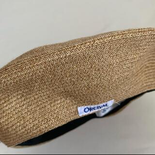 オーシバル(ORCIVAL)のORCIVAL オーシバル ストローハット ベレー帽(麦わら帽子/ストローハット)