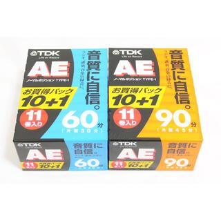 未開封 TDK  AE-90X11G AE-60X11G カセットテープ(その他)