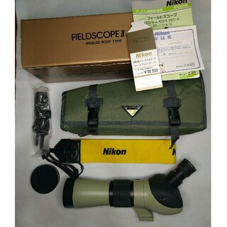 Nikon - Nikon フィールドスコープ Ⅱ-A 接眼レンズ/ストラップ付
