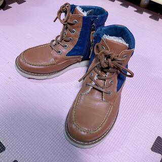 アルマーニ ジュニア(ARMANI JUNIOR)のARMANI JUNIOR ☆ スエードブーツ 20cm(ブーツ)