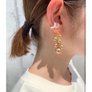 カスタネ(Kastane)のgold ball earrings(イヤリング)
