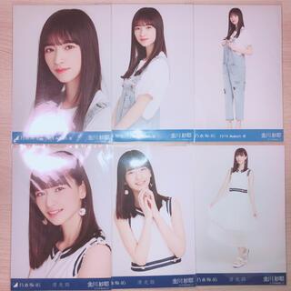 ノギザカフォーティーシックス(乃木坂46)の乃木坂46 金川紗耶 生写真(女性アイドル)