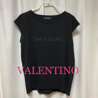ヴァレンティノ(VALENTINO)のヴァレンティノ Tシャツ カットソー トップス 半袖(Tシャツ(半袖/袖なし))