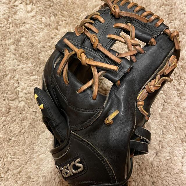 asics(アシックス)の軟式グラブ:アシックス スポーツ/アウトドアの野球(グローブ)の商品写真