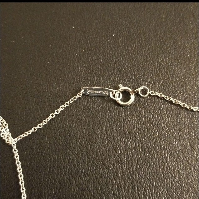 Tiffany & Co.(ティファニー)のティファニー プラチナ 一粒ダイヤモンドネックレス レディースのアクセサリー(ネックレス)の商品写真