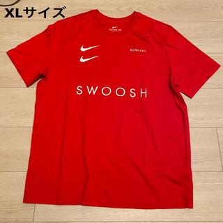 NIKE - 【新品】NIKE ナイキ 半袖 Tシャツ レッド SWOOSH XL