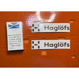 ホグロフス(Haglofs)のホグロフス 切り文字ステッカー 防水仕様 アウトドア ドレスアップ カスタム(その他)