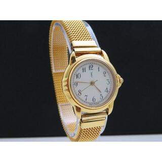 Saint Laurent - Yves Saint Laurent サンローラン フランス製 腕時計 ゴールド