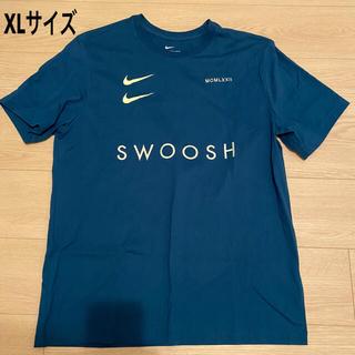 ナイキ(NIKE)の【新品】NIKE ナイキ 半袖 Tシャツ ブルーネイビー SWOOSH XL(Tシャツ/カットソー(半袖/袖なし))