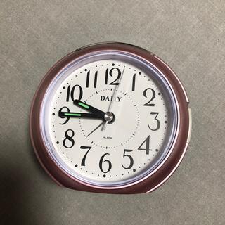 目覚まし時計(置時計)