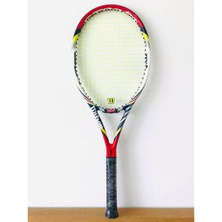ウィルソン(wilson)の【美品】ウィルソン『BLXプロモデル』テニスラケット/錦織圭モデル/初心者/G2(ラケット)