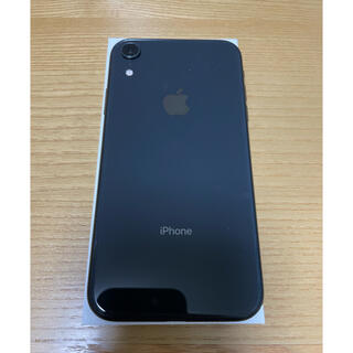 iPhone - iPhone XR Black 128 GB SIMフリー