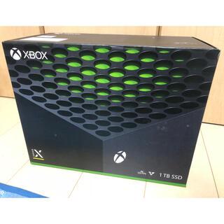 エックスボックス(Xbox)の未開封品 Microsoft Xbox Series X 1TB 本体  新品未(家庭用ゲーム機本体)
