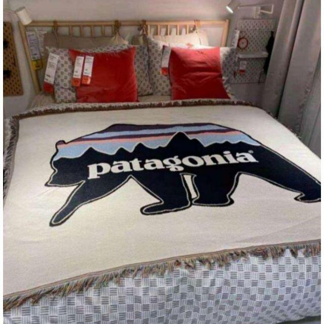 patagonia パタゴニア ラグマット 絨毯 ソファカバー アメリカン インテリア/住まい/日用品のソファ/ソファベッド(ソファカバー)の商品写真