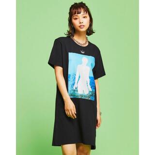 アディダス(adidas)の新品 adidas アディダスオリジナルス Tシャツ ワンピース ドレス(ひざ丈ワンピース)
