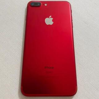 Apple - iPhone7 plus 128GB レッド 本体 SIMフリー