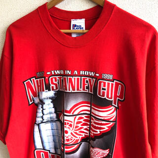 PRO LAYER NHL プリント Tシャツ アメリカ製