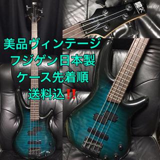 アイバニーズ(Ibanez)の美品Ibanezアイバニーズ送料込フジゲンBASSベースギター日本製ヴィンテージ(エレキベース)