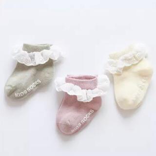 【期間限定価格】B品 * キッズソックス レース フリル 新生児 誕生日