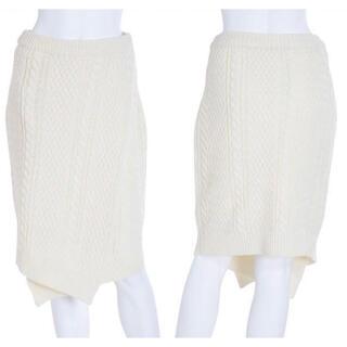 アングリッド(Ungrid)のケーブルニットタイトスカート  Ungrid(ひざ丈スカート)