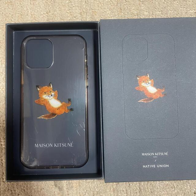 MAISON KITSUNE'(メゾンキツネ)のメゾンキツネ iPhone12&12 Proケース スマホ/家電/カメラのスマホアクセサリー(iPhoneケース)の商品写真